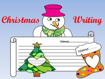 Winter Writing - Clip Art - Personal or Commercial Use