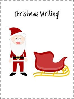 Christmas Writing Activities + Graphic Organizers