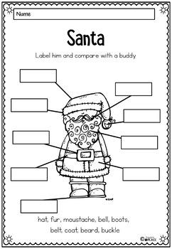 Christmas Writing 40 tasks