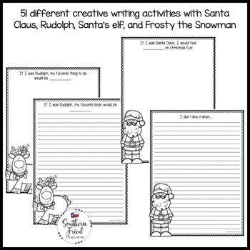 Christmas Fun Creative Writing Activities