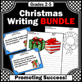 Christmas Writing Activities BUNDLE, Christmas Writing Papers and Prompts