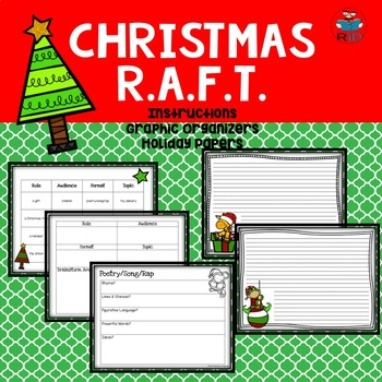 Christmas Writing Activities: RAFT