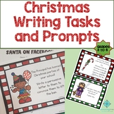 Christmas Writing Activities and Prompts- NO PREP