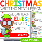 Christmas Writing Activities for PowerPoint & Google (TM)