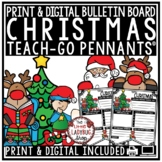Christmas Writing Prompts 3rd Grade, 4th Grade- Christmas Poetry Pennants