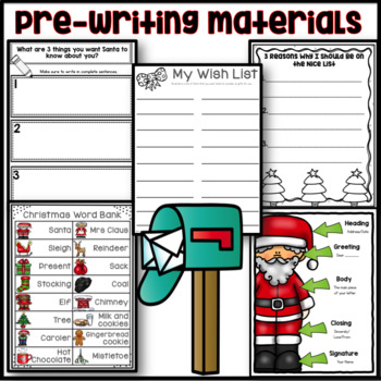 Christmas Writing Activity: Letters to Santa
