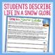 CHRISTMAS WRITING ACTIVITY: SNOW GLOBE