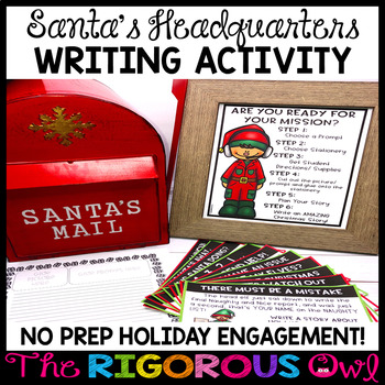 Christmas Writing Activity and Prompts