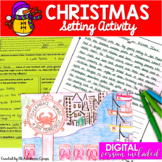 Christmas Writing Activity for Middle School (Focused on Setting)