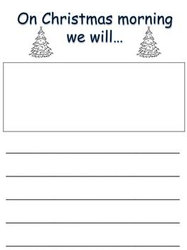 Christmas Writing Book