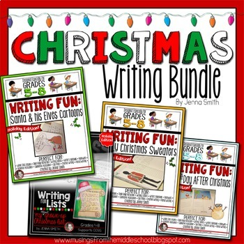 Christmas Writing Bundle