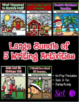 Christmas Writing Bundle 3