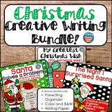 Christmas Writing Bundle: 3 Print and Go Writing Projects