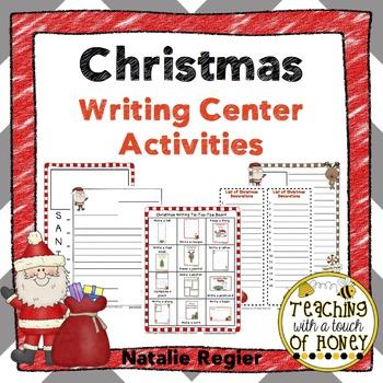 Writing Center | Writing Center Activities | Christmas Writing Activities
