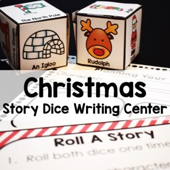 Christmas Writing Center- Roll A Story