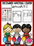 Christmas Writing Center Spanish