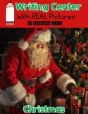 Christmas Writing Center with REAL Pictures