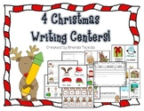 Christmas Writing Centers- 4 Exciting Activities!