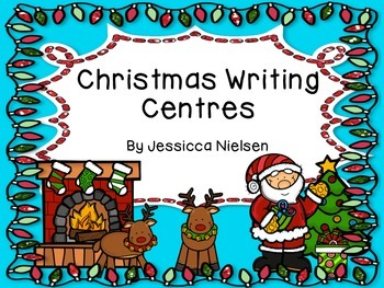 Christmas Writing Centres