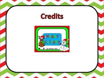 Christmas Writing Choice Board