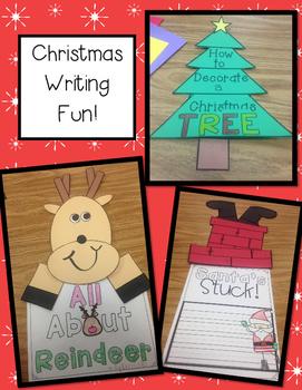 Christmas Writing Craftivities! By The 2 Teaching Divas