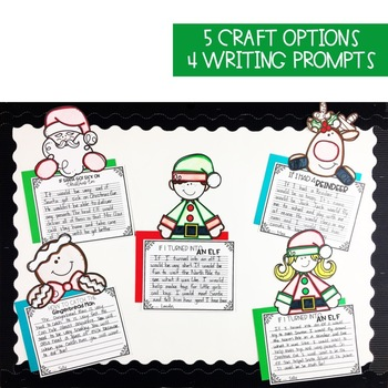 Christmas Writing Craftivities Pack