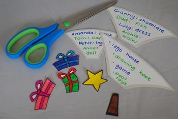 Christmas Writing Craftivity