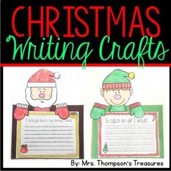 Christmas Writing Crafts
