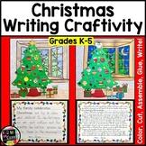 Christmas Writing Craftivity: Cut & Glue a Christmas Tree; Narrative Writing