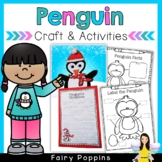 Christmas Penguin Writing Craftivity