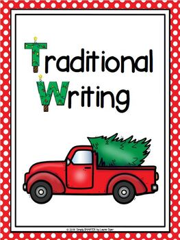 Christmas Writing Cut and Color Craftivities