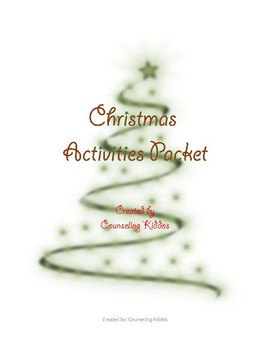 Christmas Writing, Drawing, and Coloring Activities