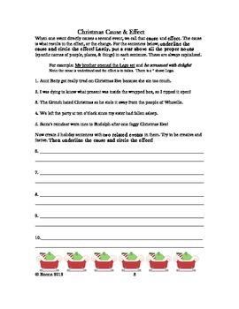 Christmas Writing & Figurative Language Activities (*NO PREP)