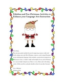 Christmas Writing & Figurative Language Activities (*NO PREP)