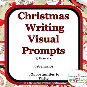 Christmas Creative Writing Prompts - Sub Tubs - Fill-er-in-er-er - Set 1