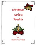 Christmas Writing Freebie