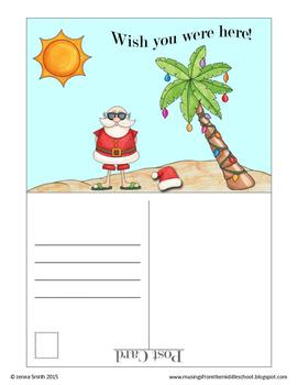Christmas Writing Fun: The Day AFTER Christmas