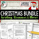 Christmas Writing, Grammar & More Bundle