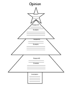 Christmas Writing Graphic Organizers by NotJustWorkSheets - Creative ...