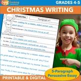 Christmas Five-Paragraph Persuasive Essay: Hire Me, Santa!