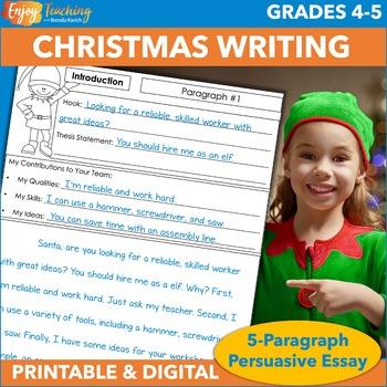 Christmas Five Paragraph Persuasive Essay