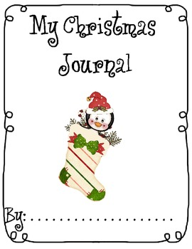 Christmas Writing Journal Pack