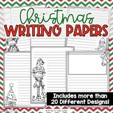 Christmas Writing Journal Pages