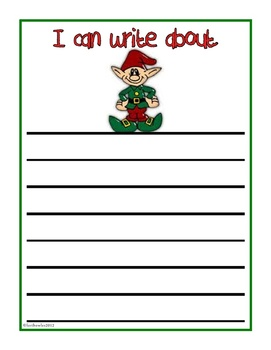 Christmas Writing Journal Prompts