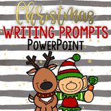 Christmas Writing Journal Prompts PowerPoint