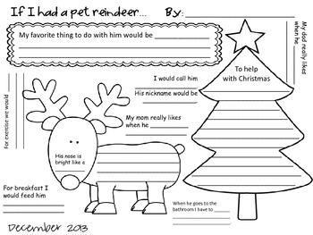 Christmas Writing Keepsakes, Ornaments and Hilarious Fun Activities for Kids