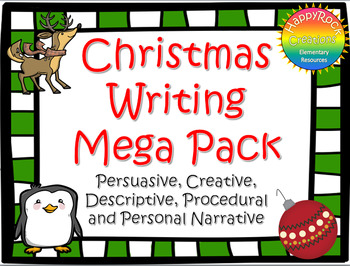 Christmas Writing Mega Pack