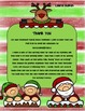 Christmas Writing Menu with Graphic Organizers and Paper.