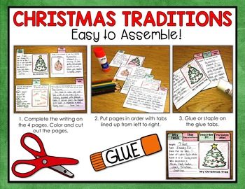 Christmas Writing - Mini Flip Book Writing Projects
