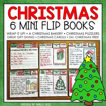 Christmas Writing Activities and Flip Books